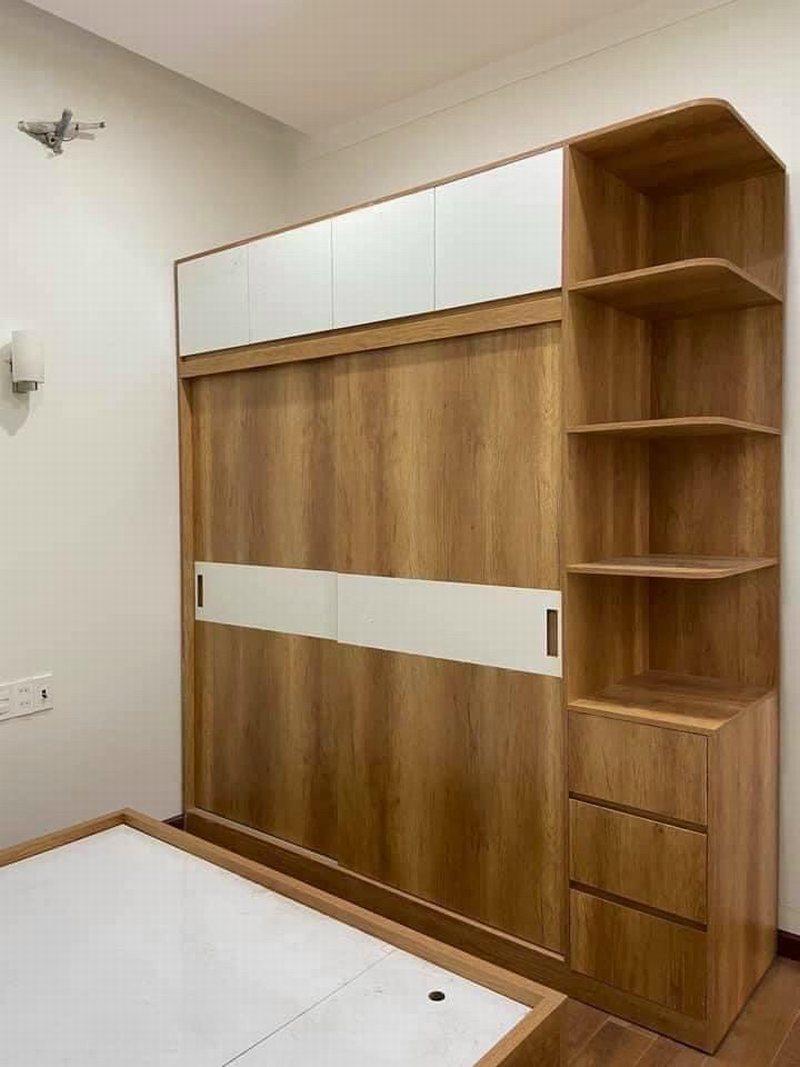 Mẫu tủ quần áo gỗ công nghiệp giá rẻ 1289 1